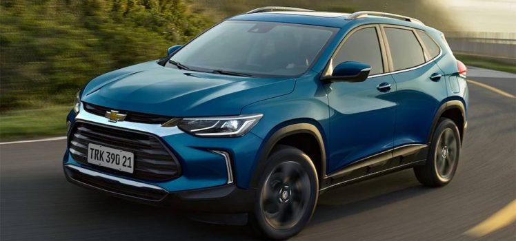 Novo GM Tracker 2021 - Dianteira